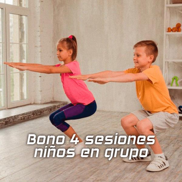 Entrenamiento para niños | Bono 4 sesiones en grupo