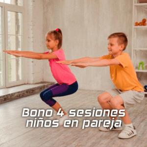 Entrenamiento para niños | Bono 4 sesiones en pareja