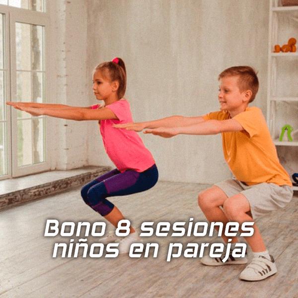 Entrenamiento para niños | Bono 8 sesiones en pareja