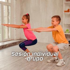 Entrenamiento para niños | Sesión en grupo