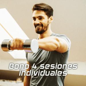 Entrenamiento personal | Bono 4 sesiones individuales