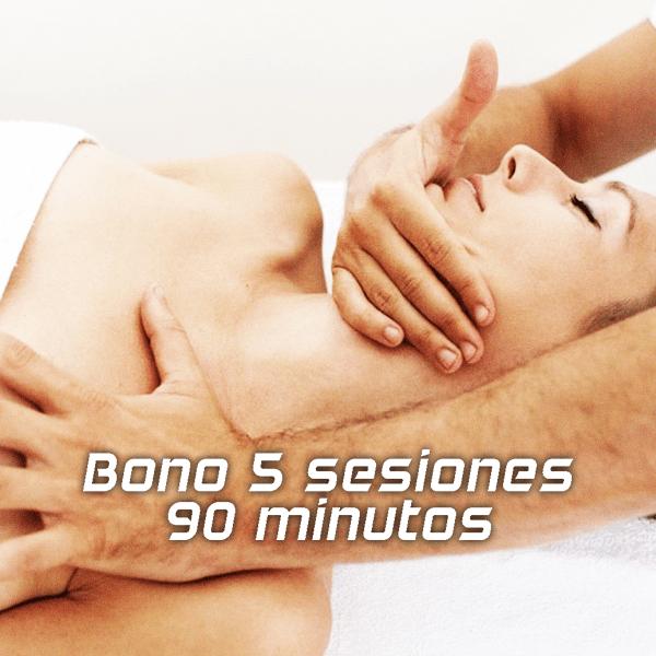 Fisioterapia | Bono 5 sesiones individuales de 90 minutos